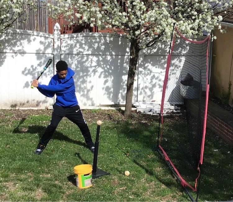 Jaden batting
